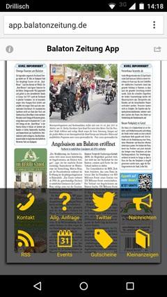 Balaton Zeitung App